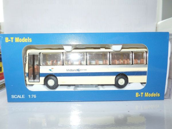 B T Models B021A 1/76 Duple Dominant Leyland Leopard Coach Midland Scottish SALE